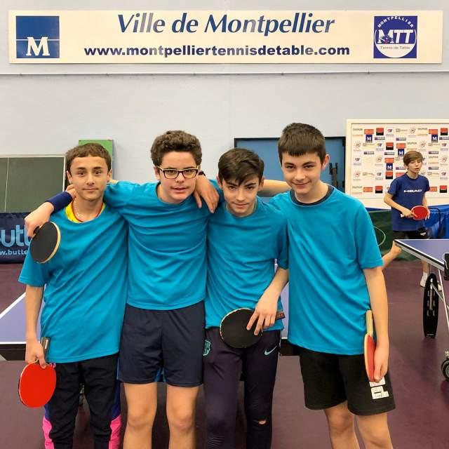 L'association sportive de tennis de table