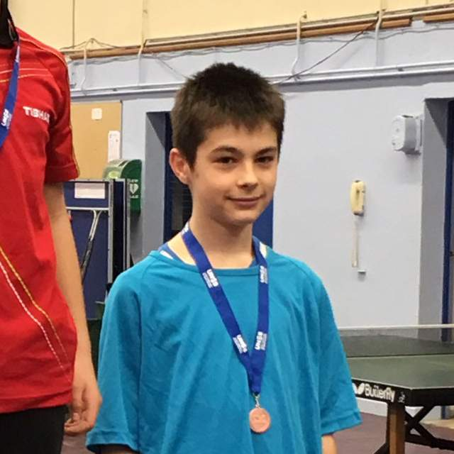 Lubin Hideux est médaille de bronze